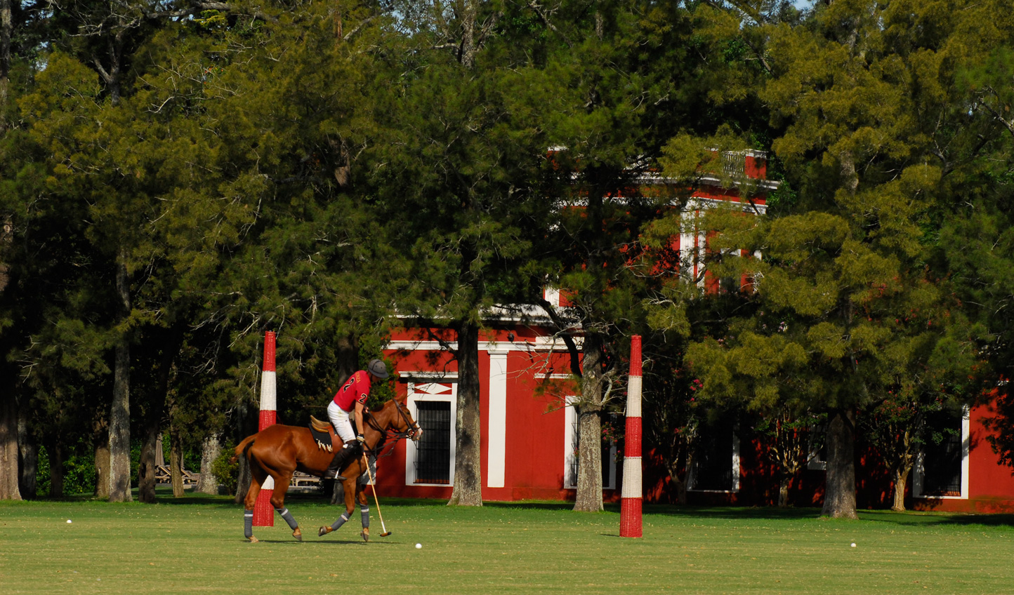 Visit during September and December and catch the Estancia's polo team in action