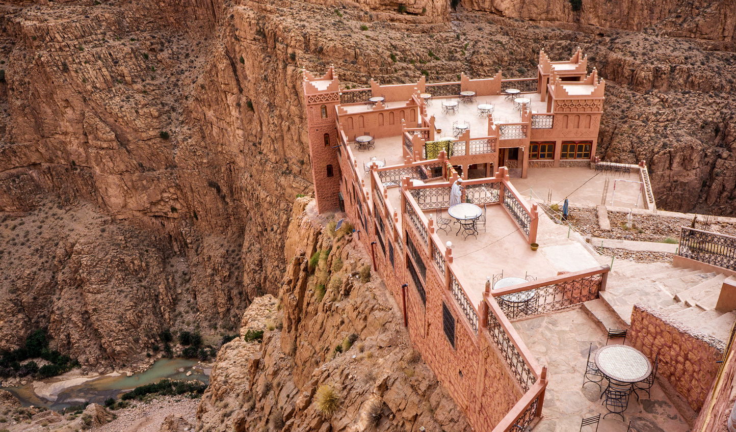 Hike through the Dades Valley in search of the perfect lunch spot