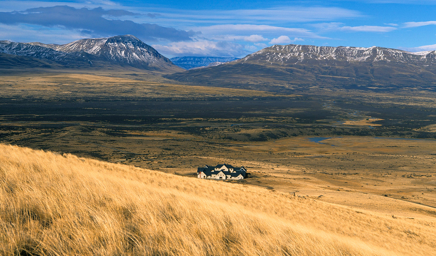 Start your adventure amid the grassy steppe of Argentinian Patagonia