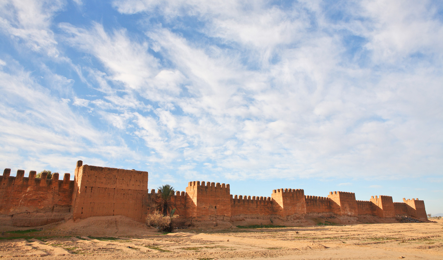 Go behind the ramparts at Taroudant