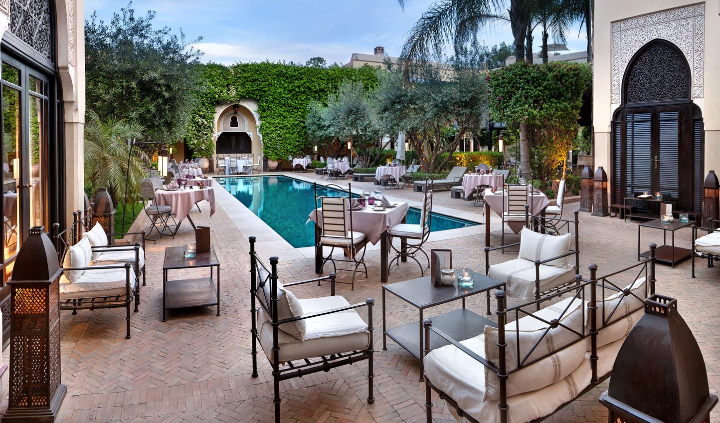 Unwind at the luxurious Villa des Orangers