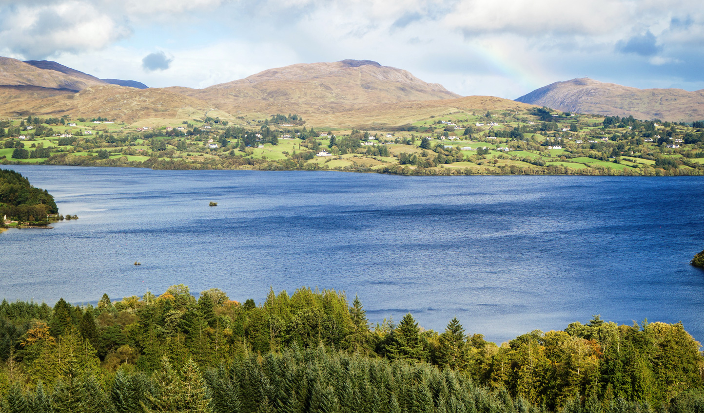 Take a boat out onto the Lough and cast a line