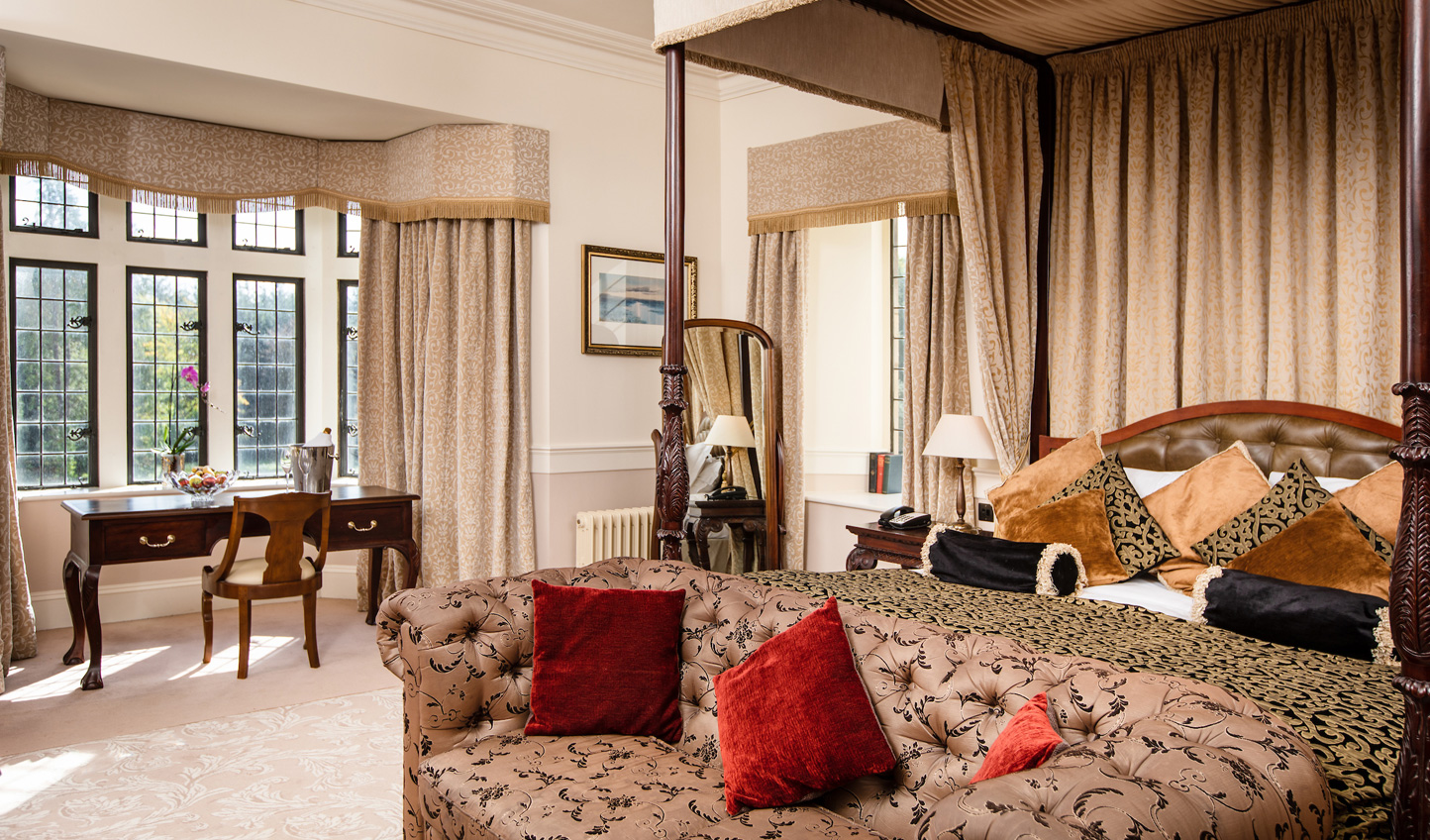 Refined and traditional suites give a sense of splendour