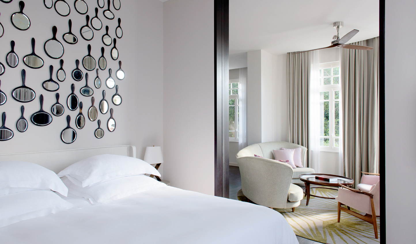Classy and elegant, the rooms and suites make for a welcome break