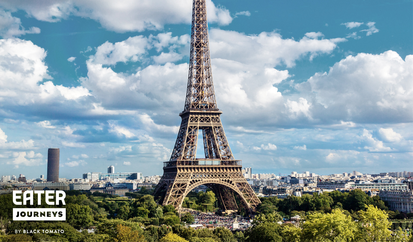 Start your culinary adventure in Paris