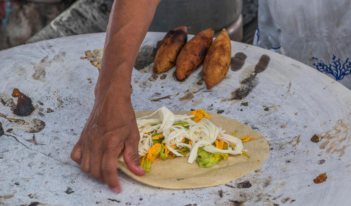 Traditional Tacos in Oaxaca