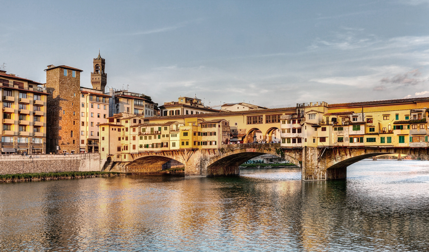 Stroll the Ponte Vecchio in Florence