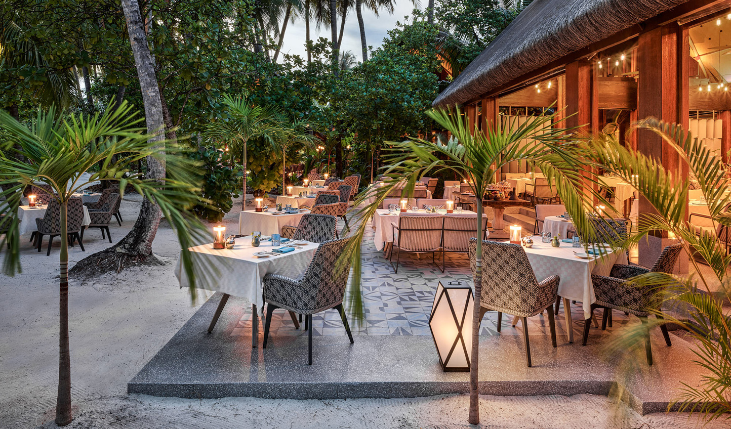 Savour a cocktail beneath the palms at Bellinis