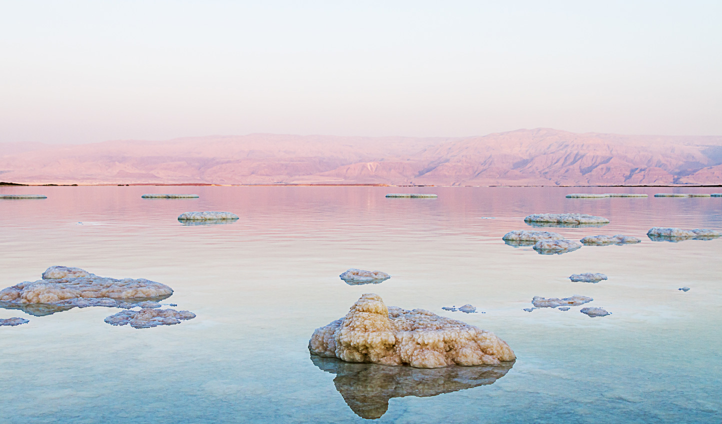 Soothe body and mind with a relaxing dip in the Dead Sea