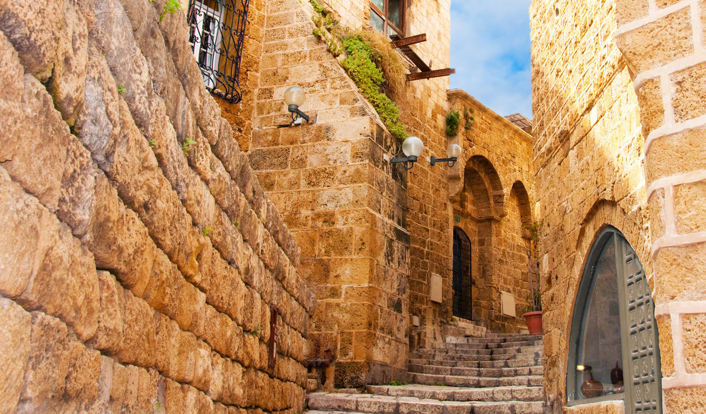 Discover the ancient port town of Jaffa