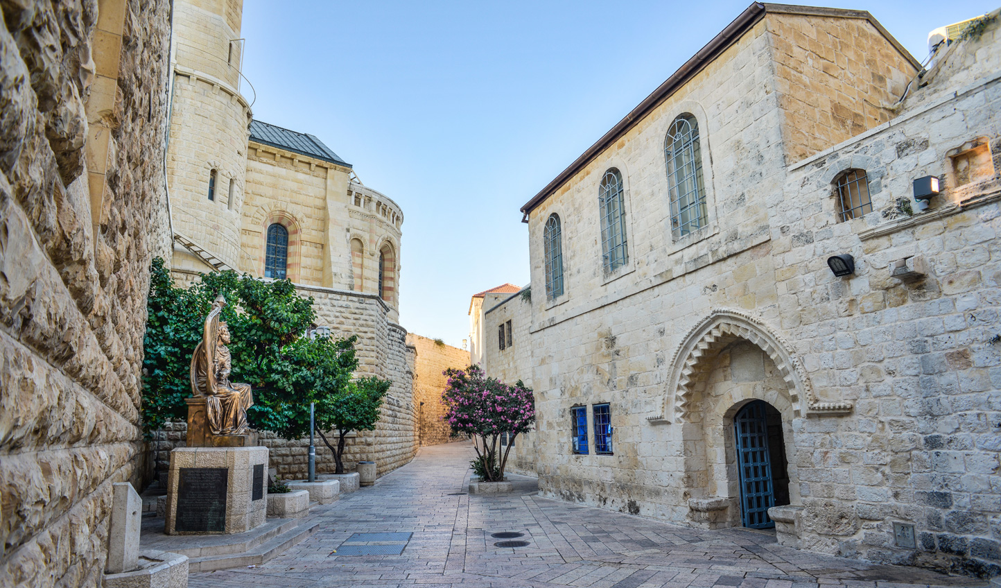 Stay in the heart of the Old City in Jerusalem
