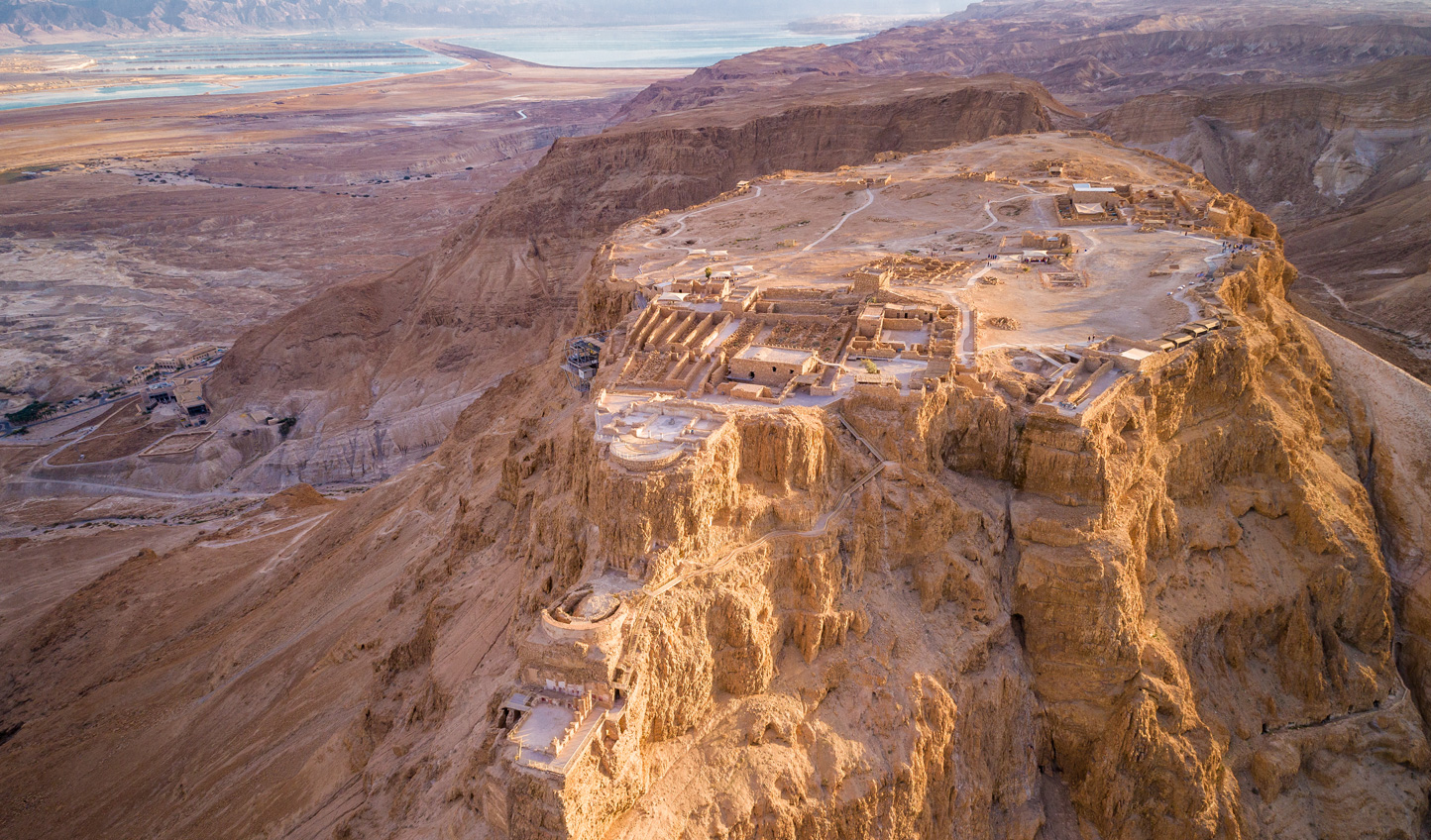 Hear the heroic tales of Israel's last Jewish resisters to Roman rule at Masada