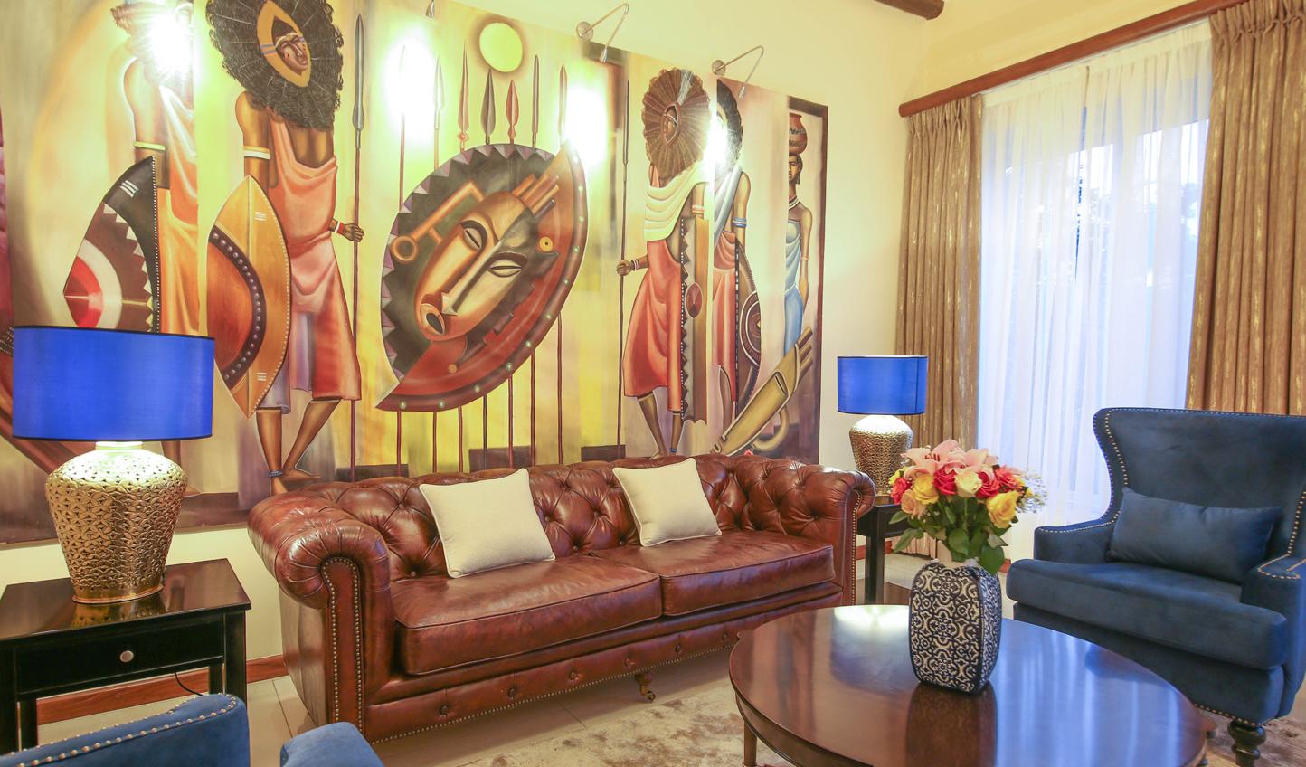 Warm Ugandan hospitality in a calming setting