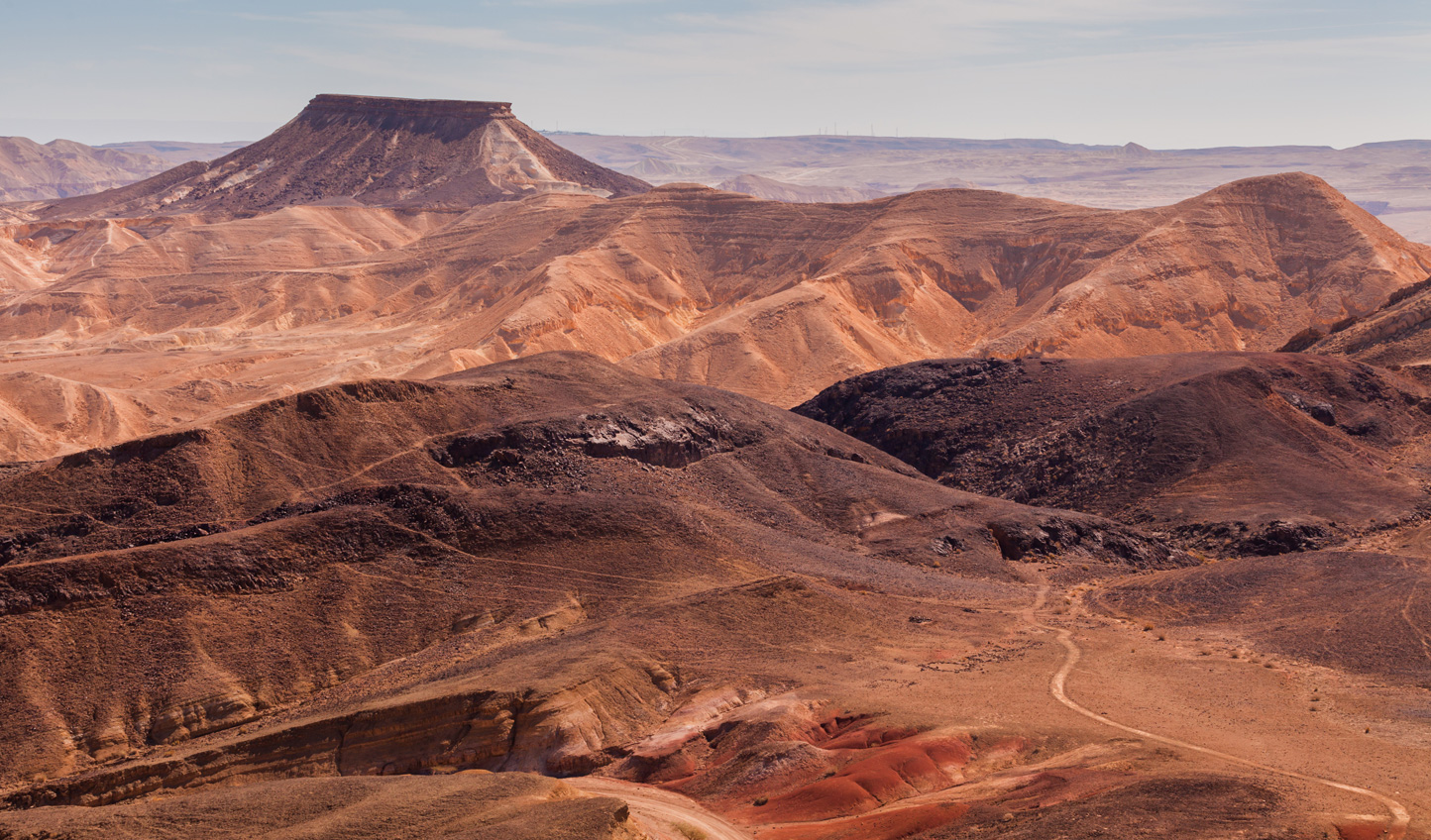 Get a taste for adventure out at Ramon Crater