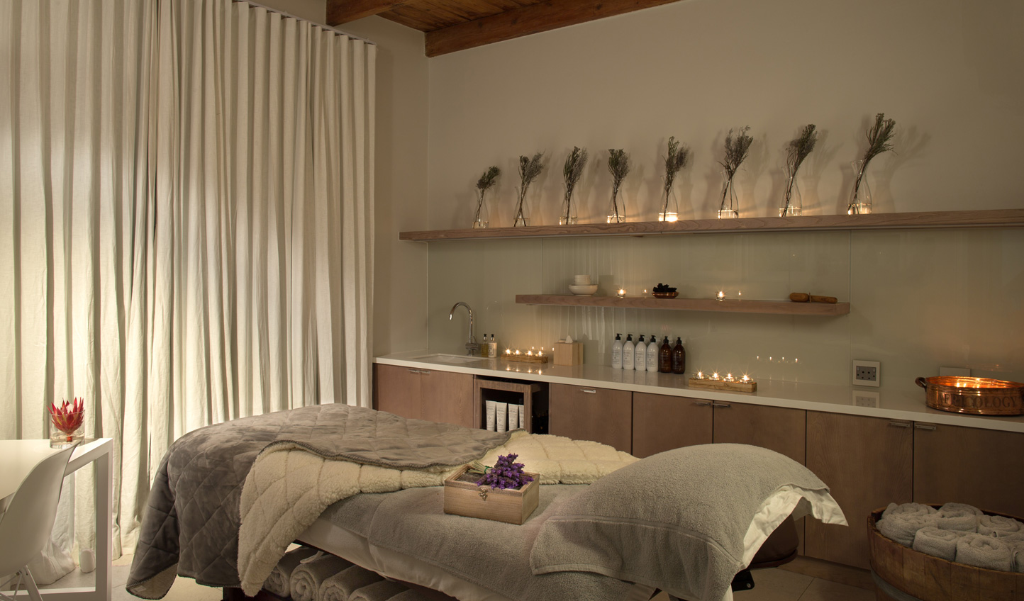 Unwind with a treatment at Mont Rochelle's spa
