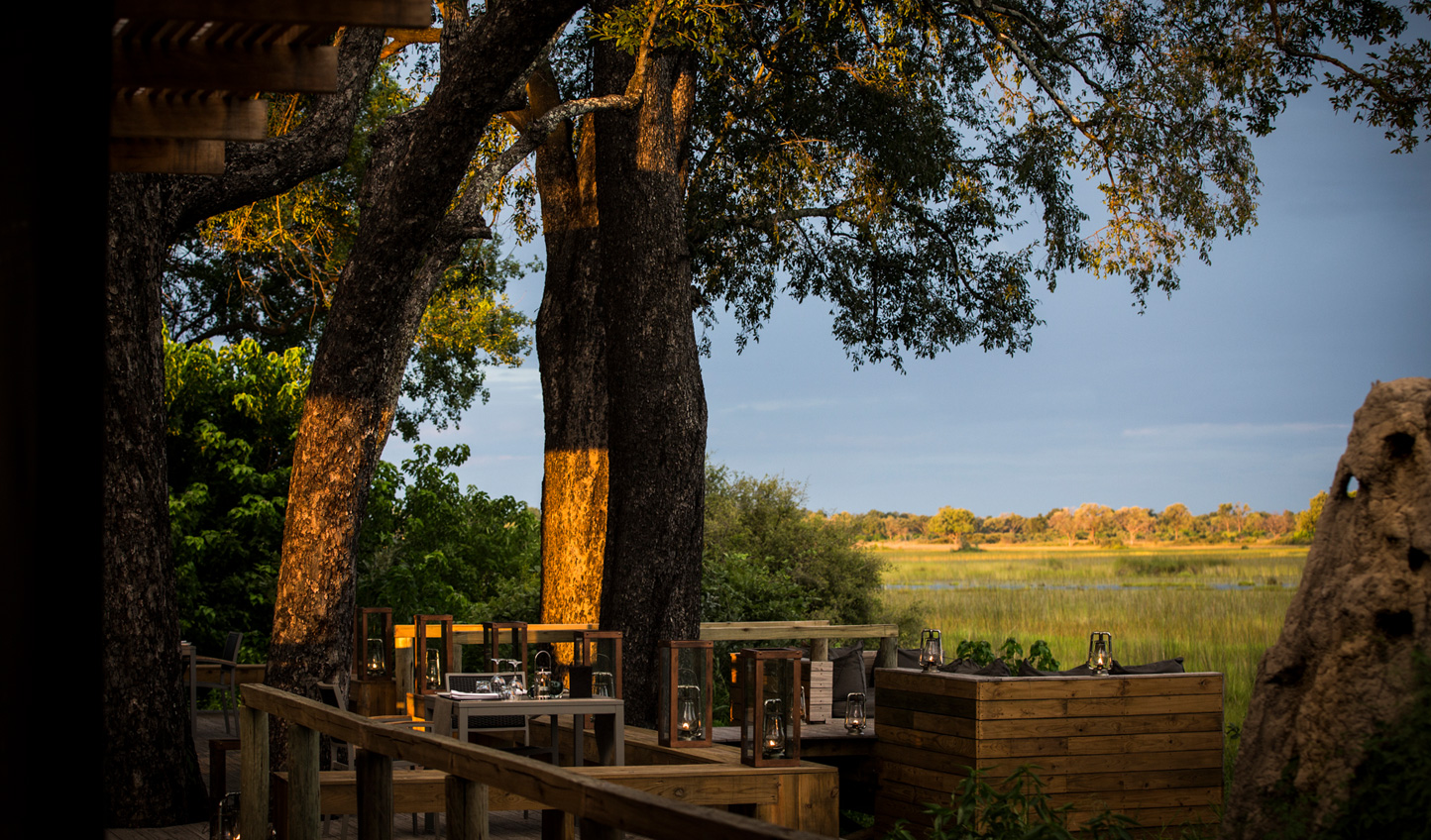 Settled within the heart of the Okavango Delta