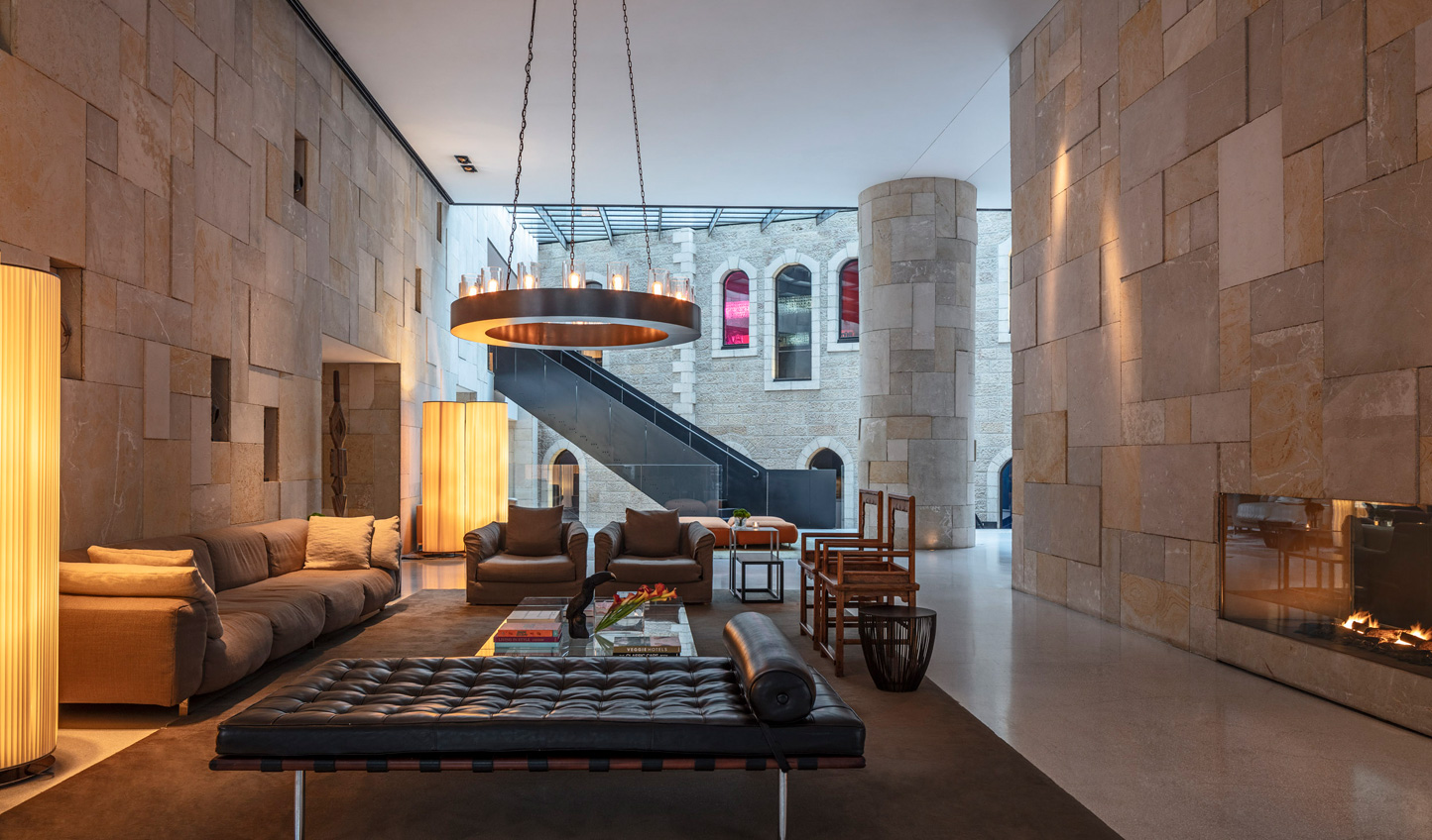 Period features give Mamilla Hotel a sense of place