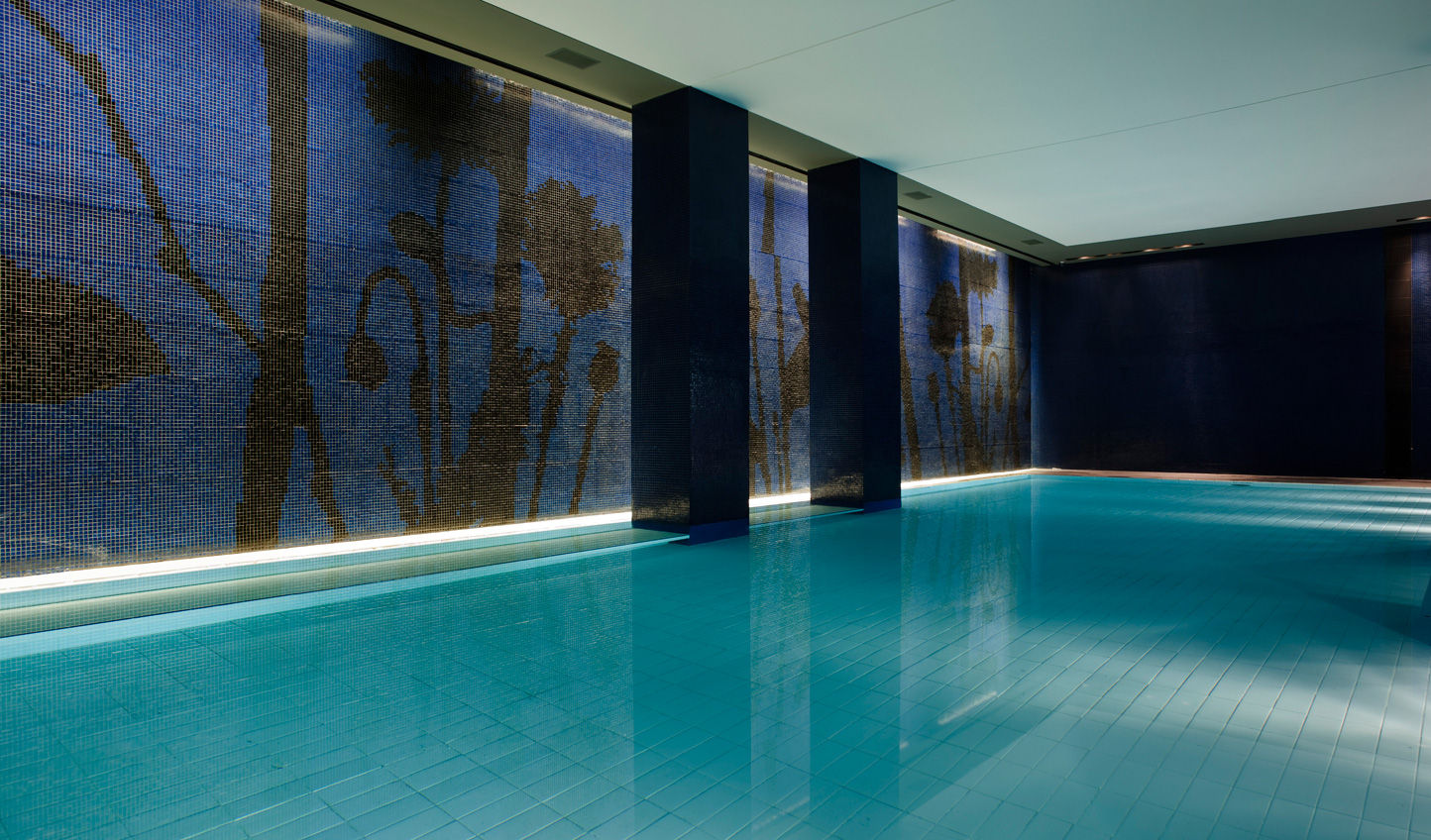 Rest your weary muscles with a couple of laps of the indoor pool