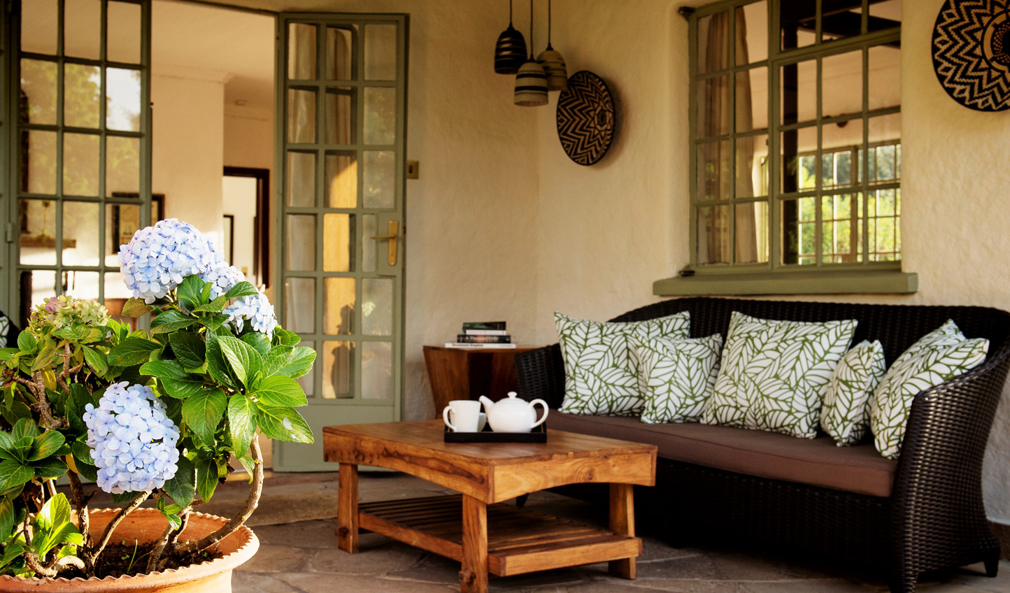 Watch the world go by from the veranda as the sun descends on this breath-taking land