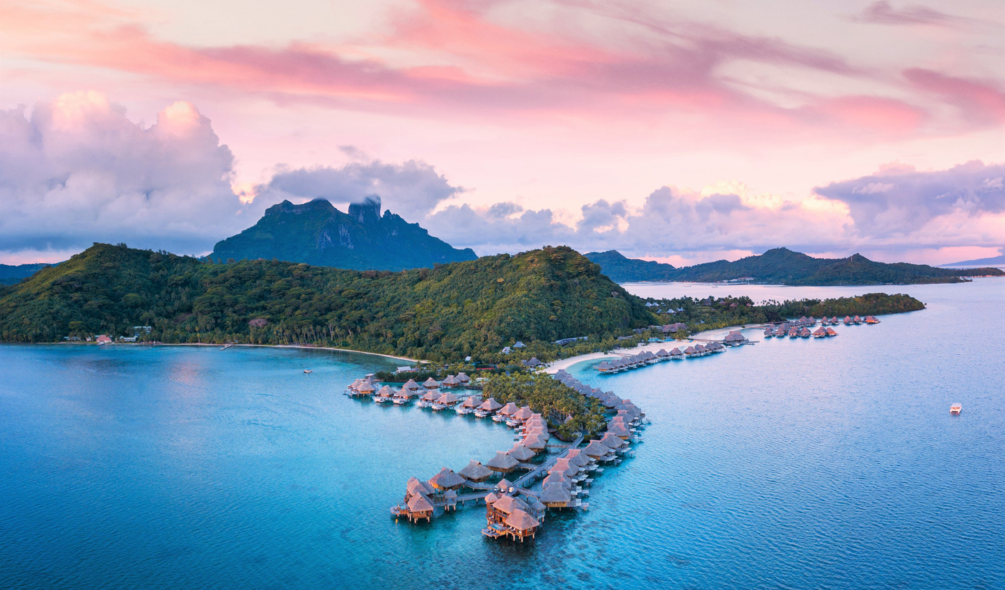 Embark on a luxurious Pacific getaway as you hop through Hawaii and onto French Polynesia