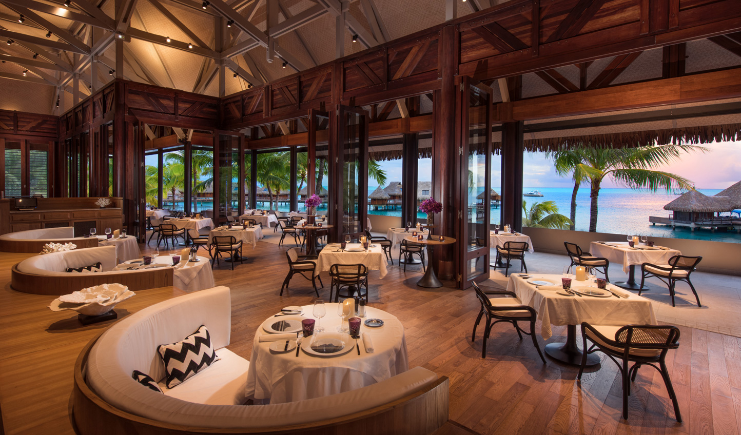 Taste the islands' French influence at Iriatai
