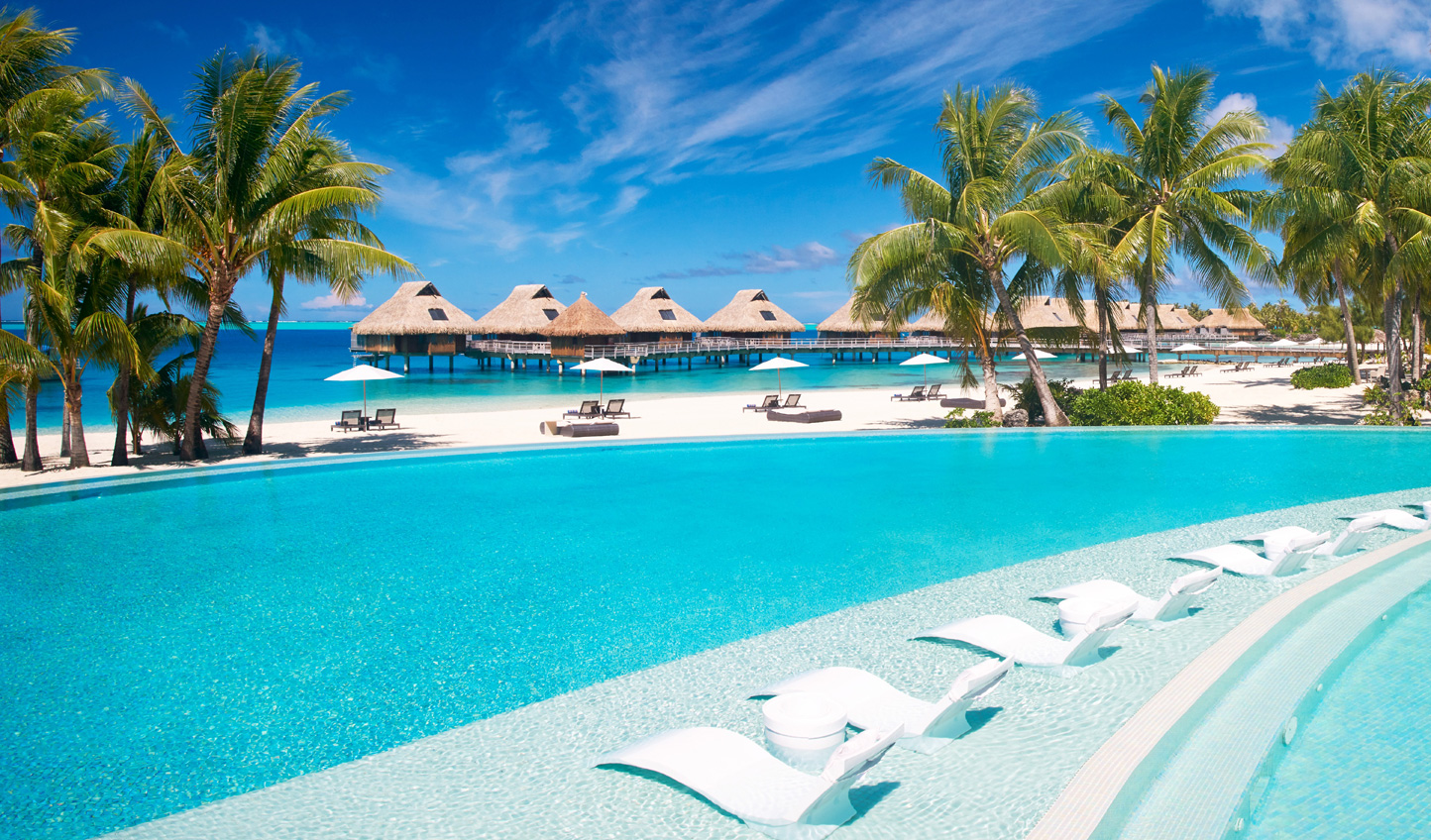 Finish up your trip in the luxurious surrounds of Conrad Bora Bora Nui