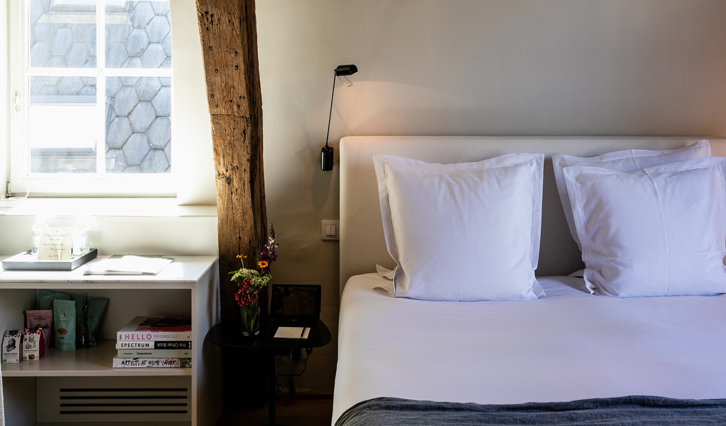 Tastefully designed rooms, clean and crisp interiors