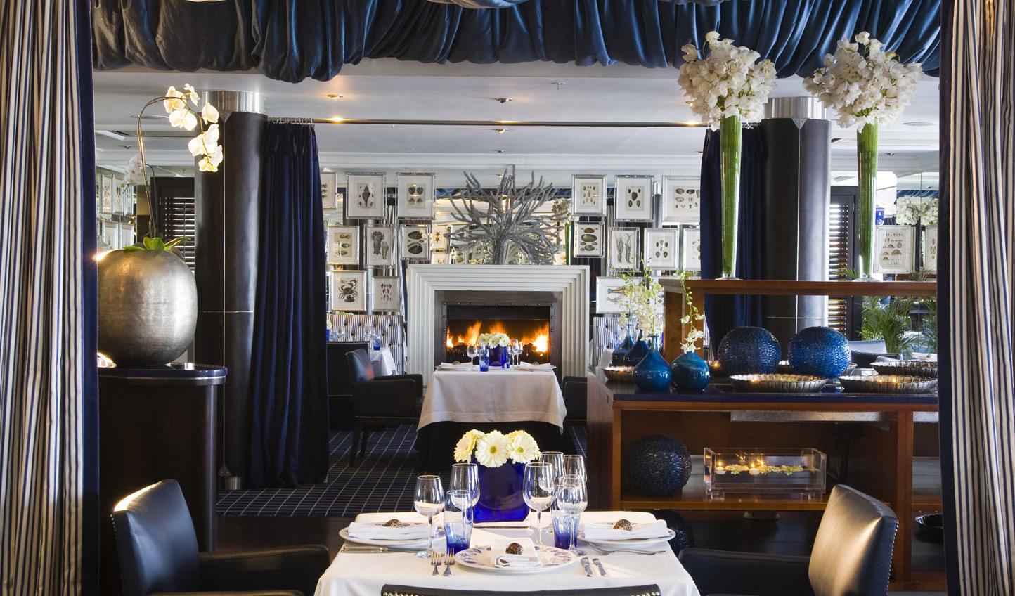 Dine at South Africa's award-winning restaurant 'Azure'