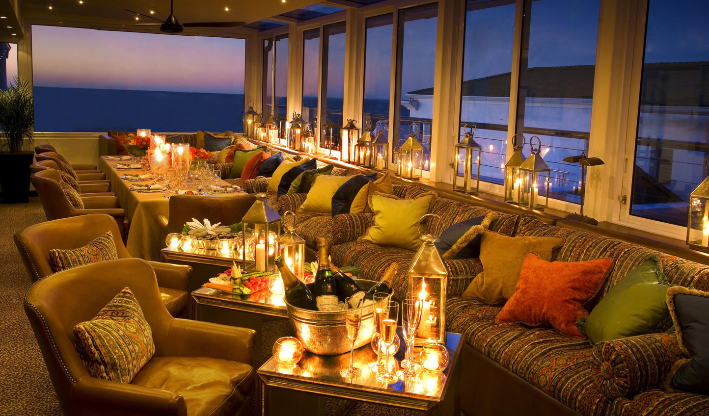 Excellent dining experiences with ocean views