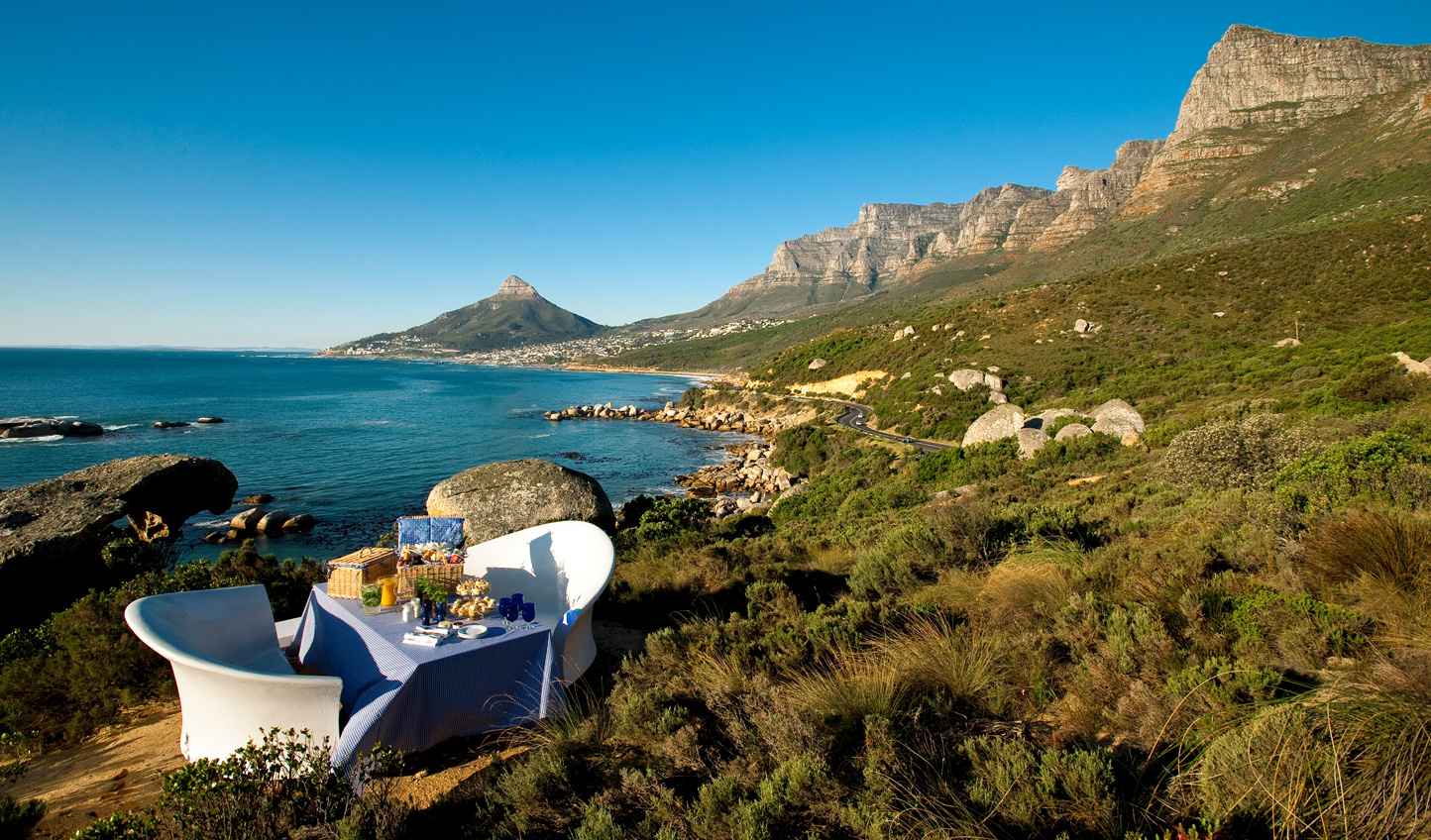 Let us arrange a special picnic for you in Table Mountain National Park