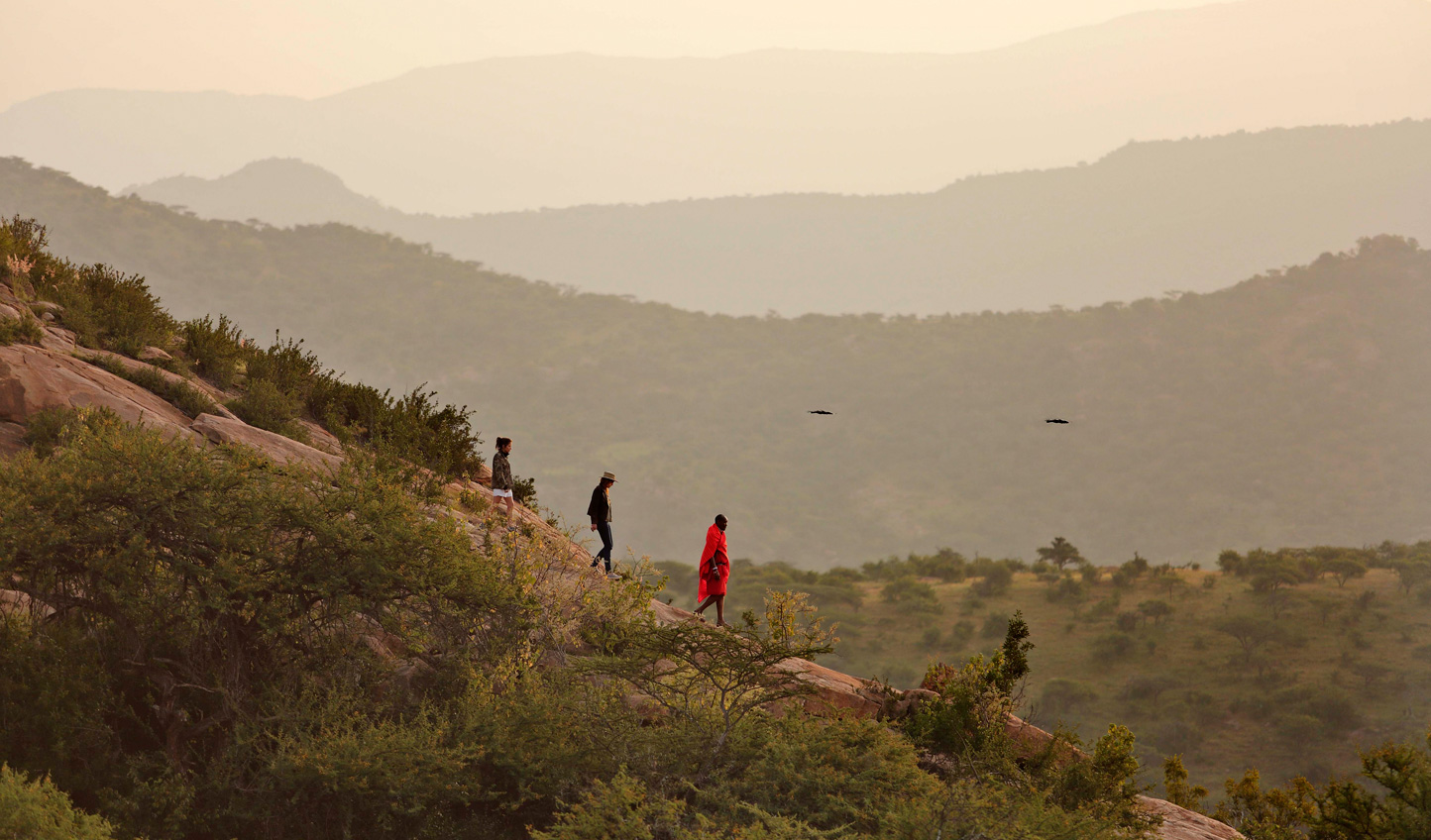 Discover these stunning landscapes in the company of Maasai and Samburu guides