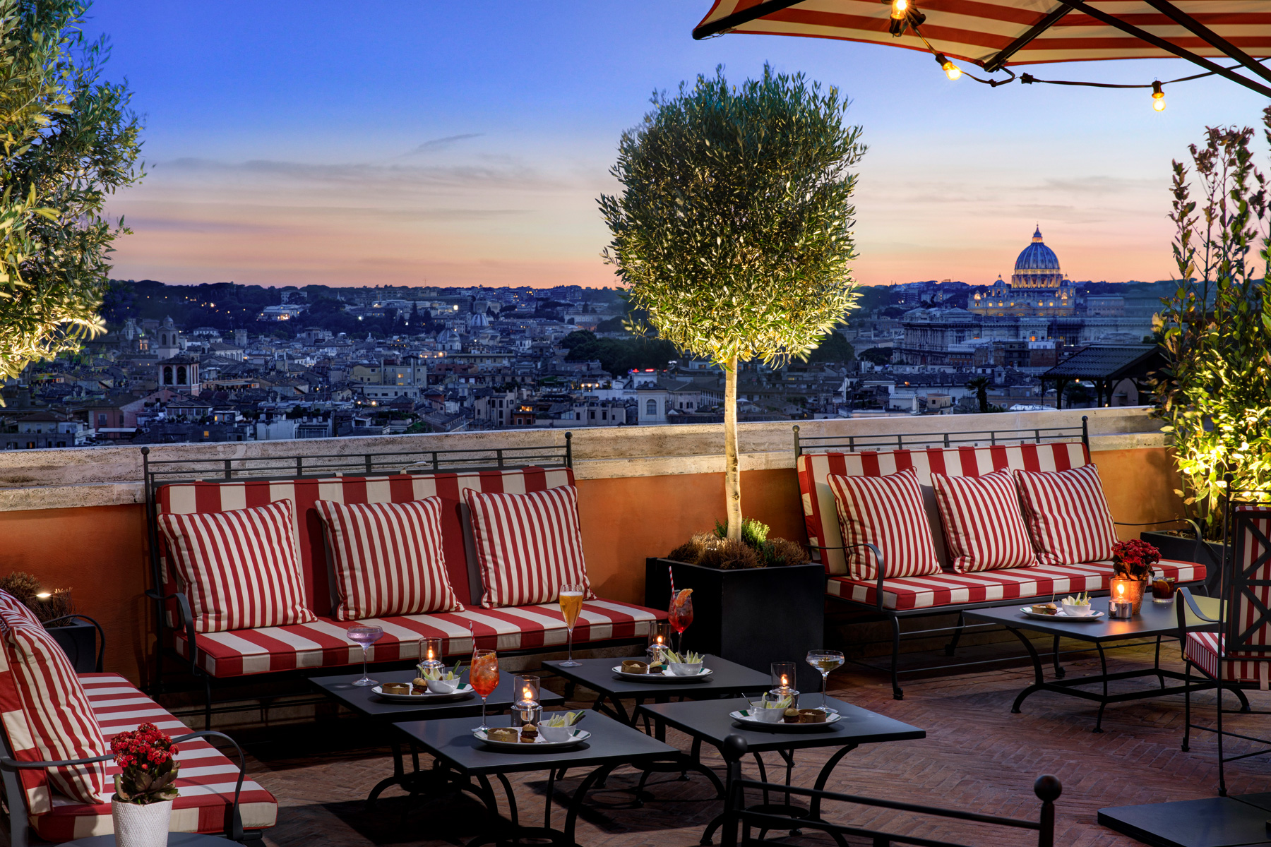 Luxury hotels in Rome
