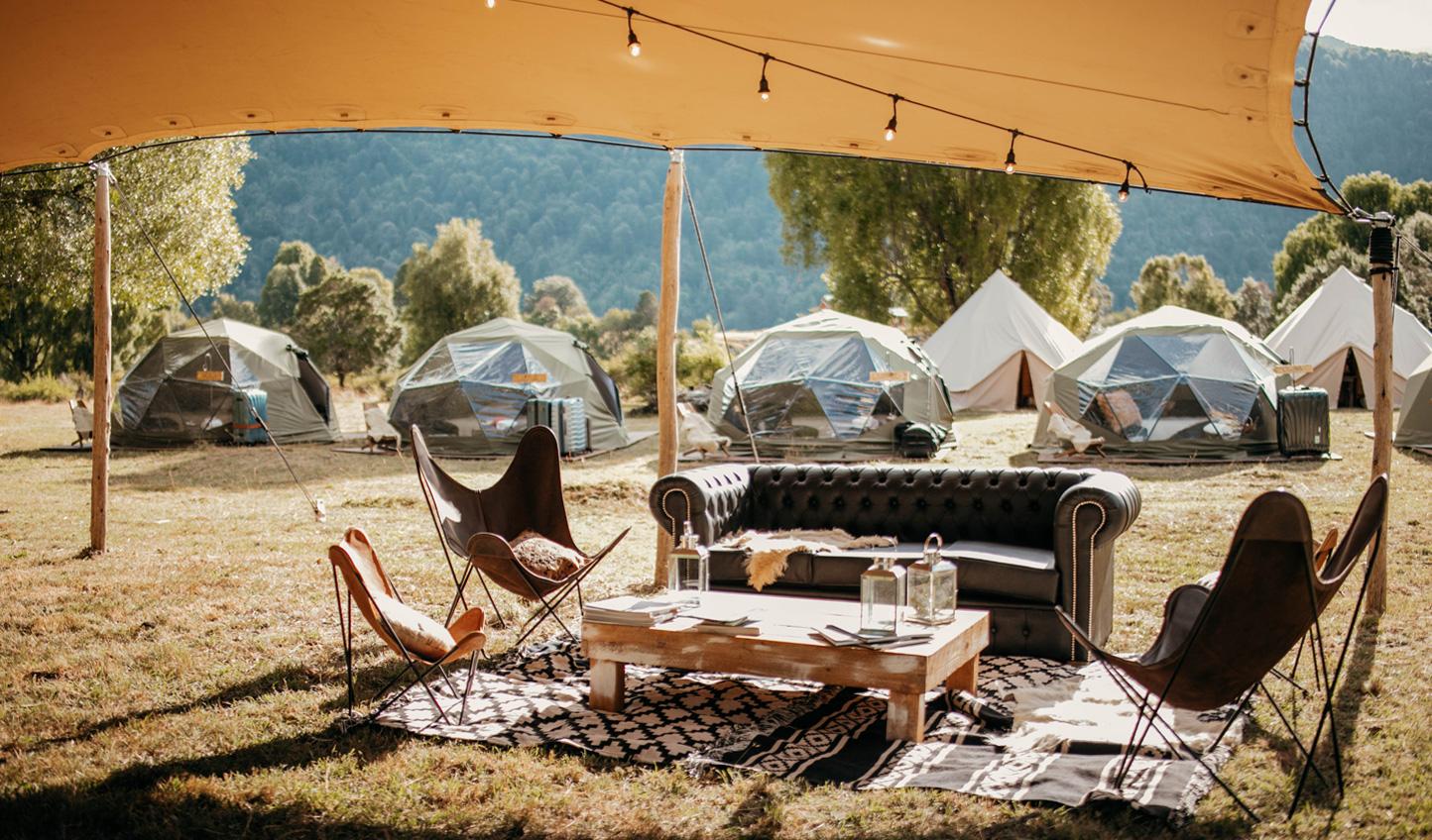 Solar Eclipse Luxury Private Camp Argentina