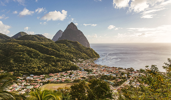 Luxury vacation in January: St Lucia