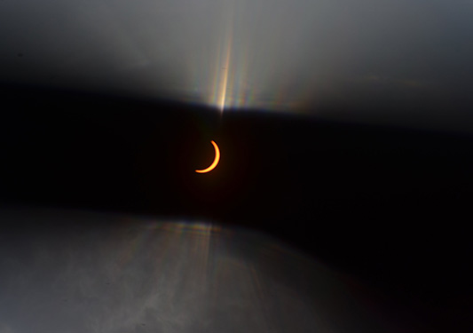 Total solar eclipse holiday